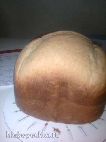 Хлеб пшенично-гречневый на кисломолочке