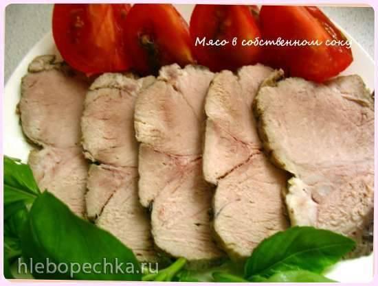 Мясо с помидорами в скороварке Steba DD1 ECO