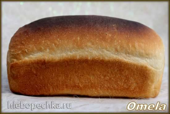 Хлеб сдобный в упаковке по ГОСТу - ускоренный метод (в духовке)