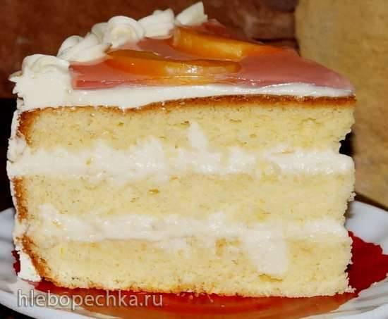 """Торт апельсиновый """"Lambada""""Торт апельсиновый """"Lambada"""""""