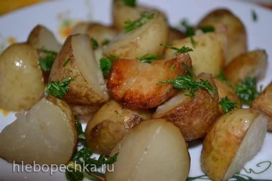 Жареная картошка (мультиварка Redmond RMC-01)