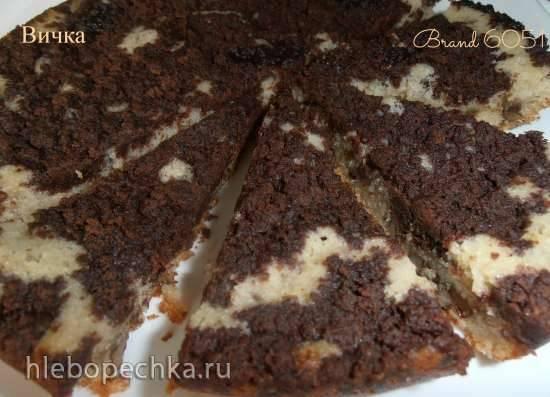 Пирог Орехово-шоколадный штрейзель (мульти-скороварка Brand 6051)