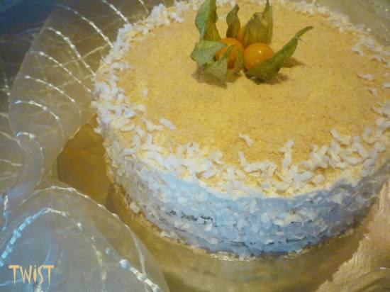 Торт Макиато  (мультиварка-скороварка Brand 6051)