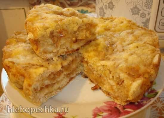 Необычный яблочный пирог в мультиварке Polaris 0508D floris