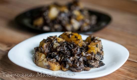 Картофель с грибами в скороварке Бранд 6051