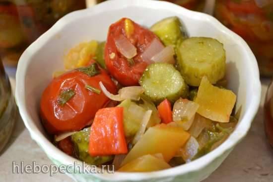 Салат овощной (баночные заготовки)