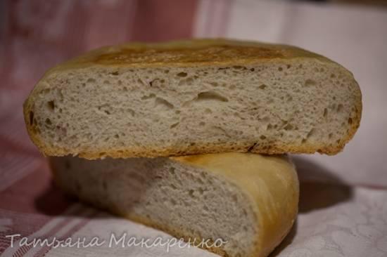 Хлеб обычный в скороварке Бранд 6051