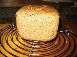 Ржаной  хлеб с овсяными хлопьями, сухой горчицей  и шамбалой
