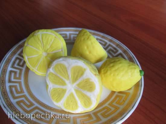 Лимоны из мастики (мастер- класс)