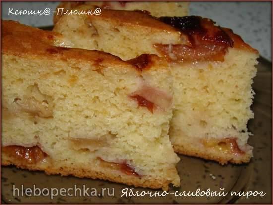 Пирог из сливового варенья