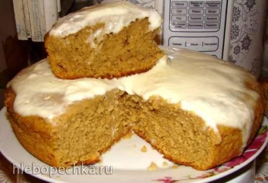 Пирог-торт «Кофейный» в мультиварке Polaris 0508D floris
