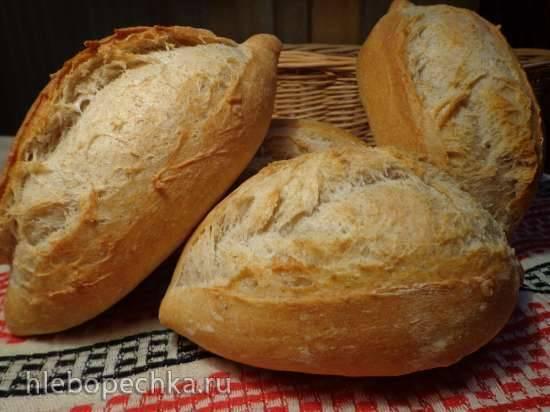 Хлеб фермерский со старым тестом