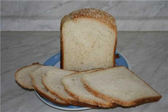 Кунжутный хлеб в духовке
