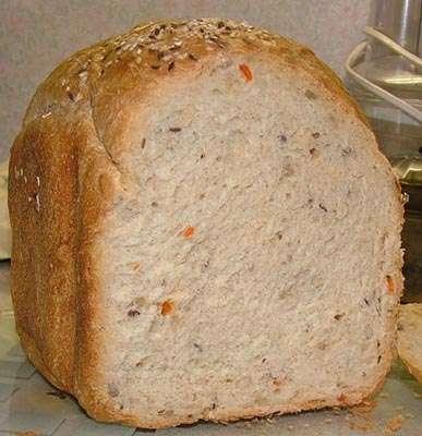 Цельнозерновой хлеб со смесью Фитнесс - Микс