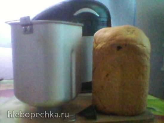 Хлеб с перцем и луком