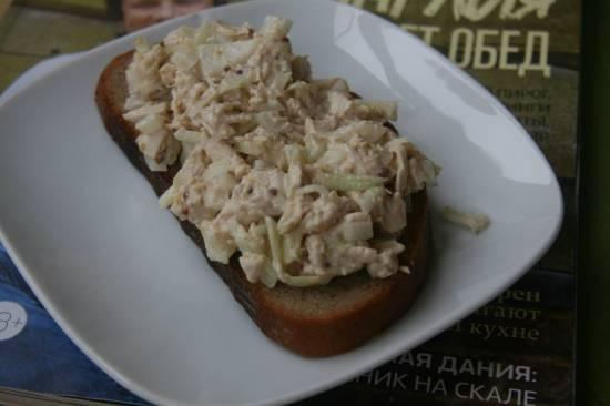 Бутерброд Салатный