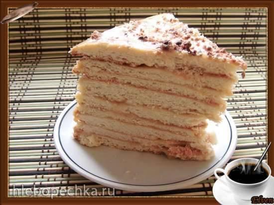 Торт песочный К чаю