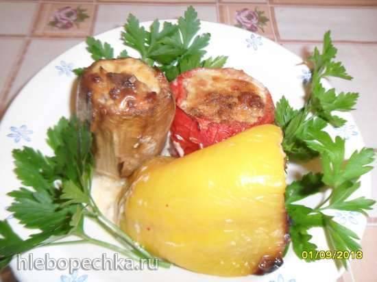 Овощи фаршированные по-провансальски