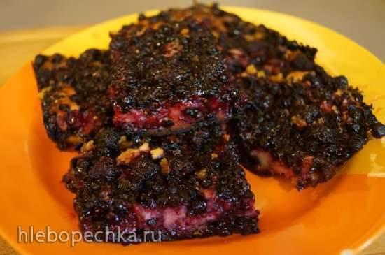 Английский пирог с ягодами