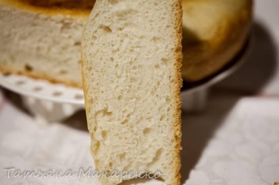 Простой хлеб на пиццевом тесте в скороварке Steba