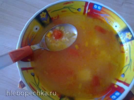 Овощной суп с булгуром (Steba DD1 ECO)