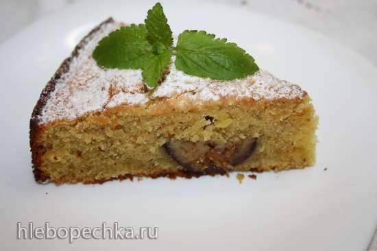 Миндально-инжирный пирог