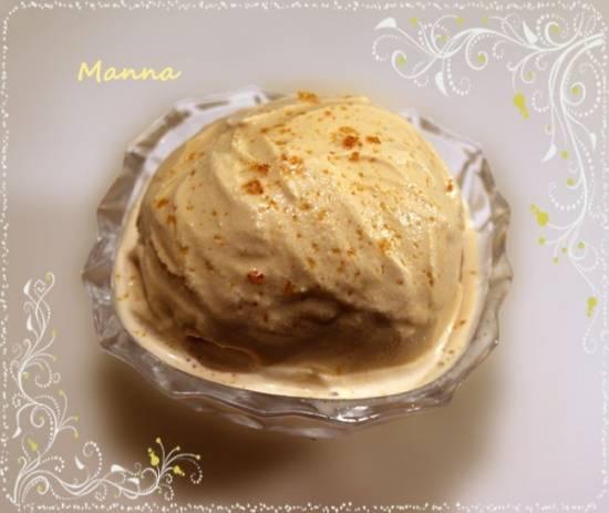 Мороженое Тоффи (без яиц) в мороженице Brand 3811