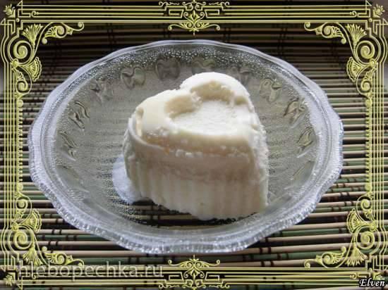 Мороженое ванильное с мёдом