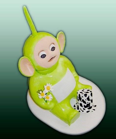 Торт Телепузик Дипси 3Д (мастер-класс)
