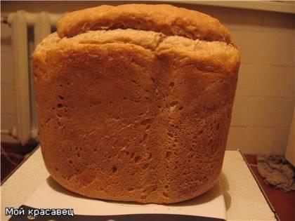 """Хлеб на """"Вечной"""" закваске из цельнозерновой муки в хлебопечке"""