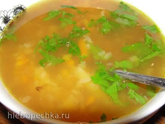Гороховый суп из зеленого колотого гороха (мультиварка Steba DD1 ECO) Гороховый суп из зеленого колотого гороха (мультиварка Steba DD1 ECO)