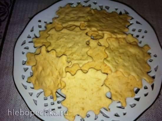 Гречневая галета с грушами, черносливом и шоколадом Галетное печенье (стол №1 и для деток)