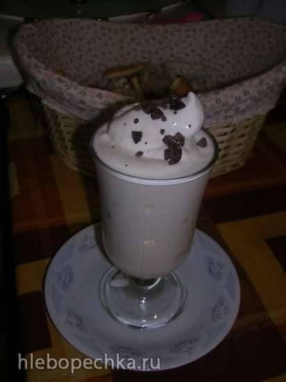 Мороженое на основе льняного киселя