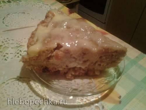 Пирог яблочный с корицей Мамин (Panasonic SR-TMH 18)