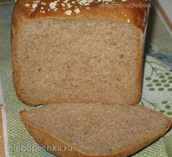 Хлеб пшенично-ржаной 50:50 с отрубями