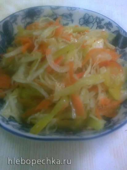 Салат Свежий - заготовка без варки