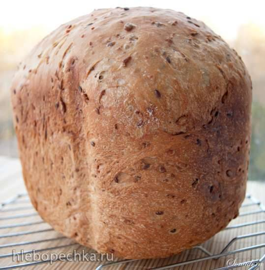 Хлеб пшенично-нутовый (хлебопечка)