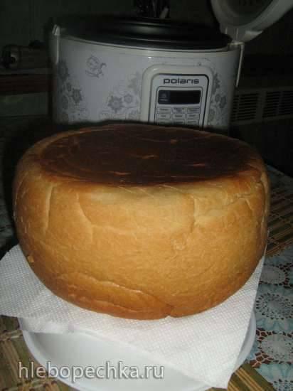 Пшеничный хлеб в мультиварке