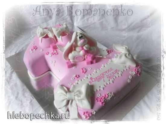 Сборка торта Единичка