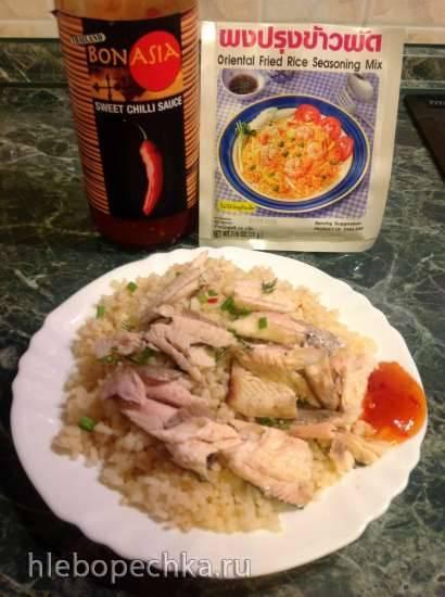 Рис жареный по-тайски