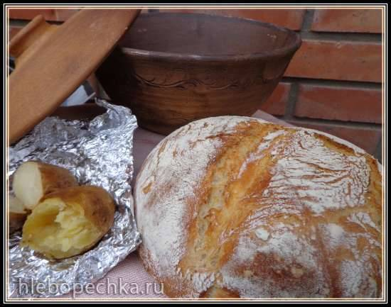 Хлеб с печеным картофелем  J. Hamelman