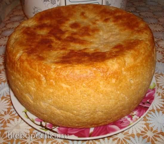 Ржаной хлеб с квасным суслом на опаре
