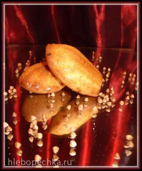 Печенье и мадленки с большим содержанием отрубей