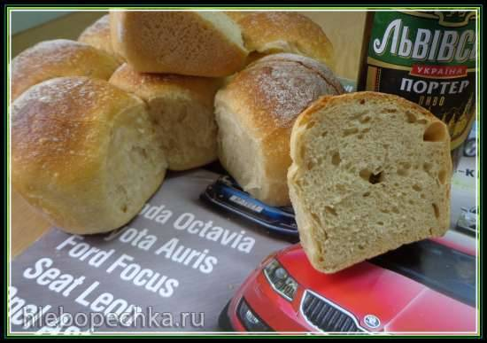 Словацкий пивной хлеб