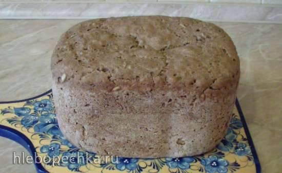 Самый простой ржаной хлеб на закваске