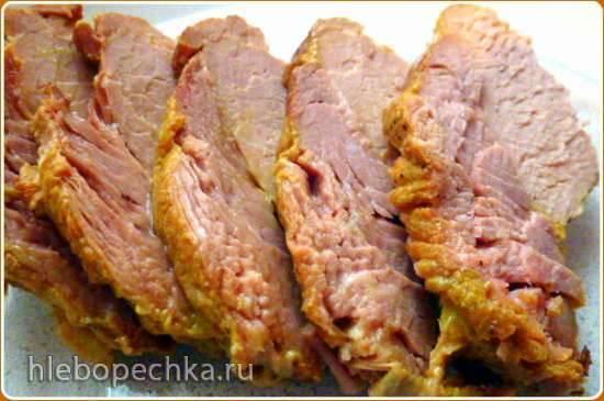 Мясо на медленном режиме (скороварка-мультиварка Brand 6051)
