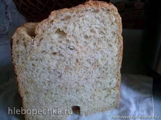 Дрожжевой хлеб с 10-ю злаками