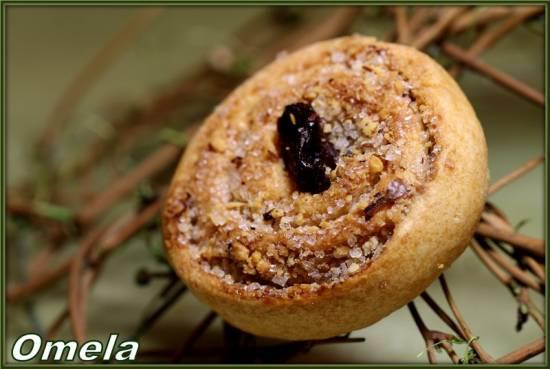Печенье Ореховые завитки