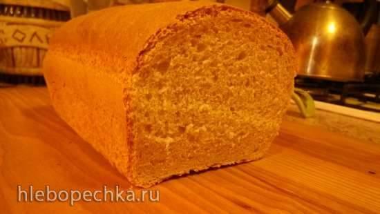 Пшеничный хлеб в духовке на каждый день