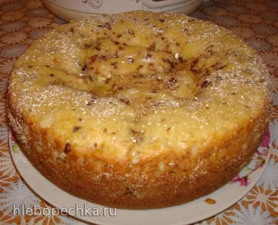 Сметанный пирог в мультиварке Polaris 0508D floris